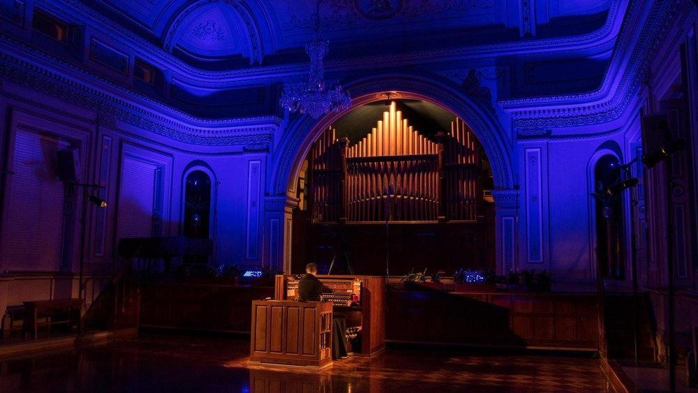 The Weight Of Air  (2017) 24 hour performance Hobart Town Hall, MONA FOMA, Hobart