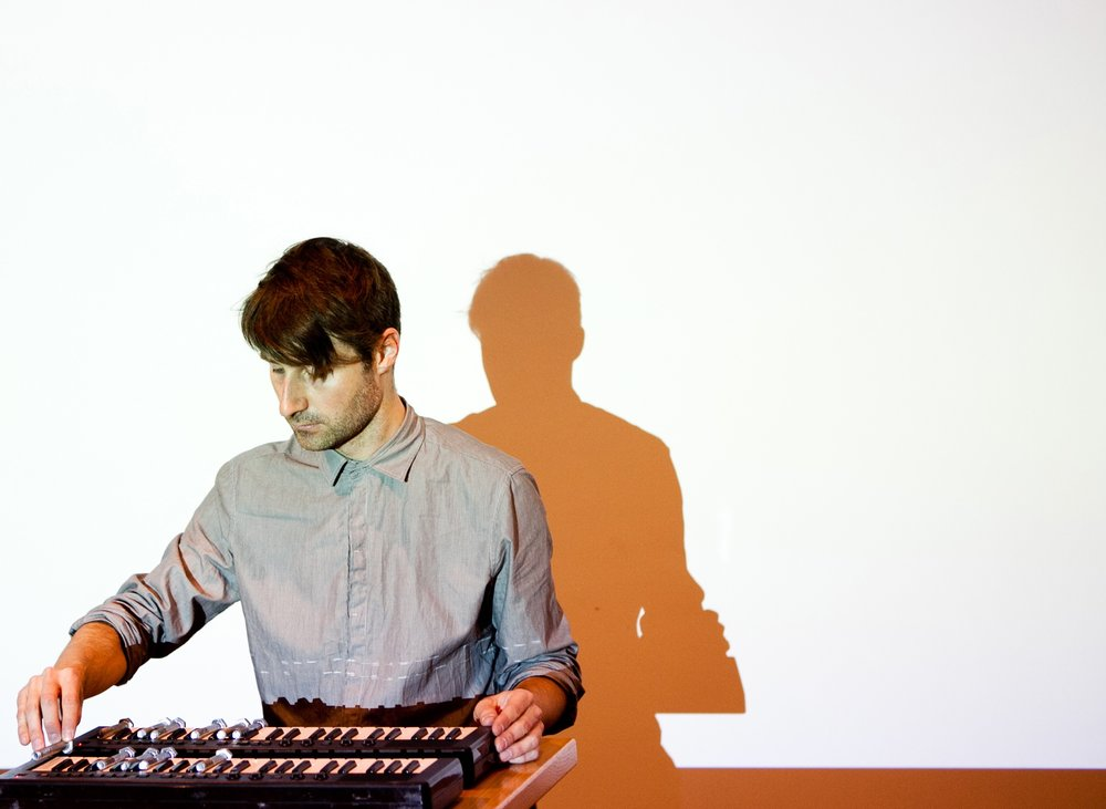 Intercessions  (2011) performance (synthesizers, bolts) Whitechapel Gallery, London