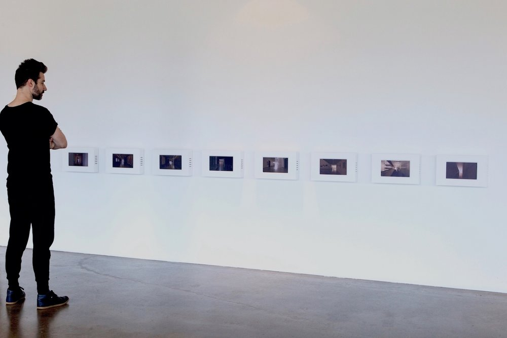 Open Plans: This Is Not A Gallery  (2015) 16-channel video, performance, handbells QAGOMA, 8th Asia Pacific Triennial, Brisbane