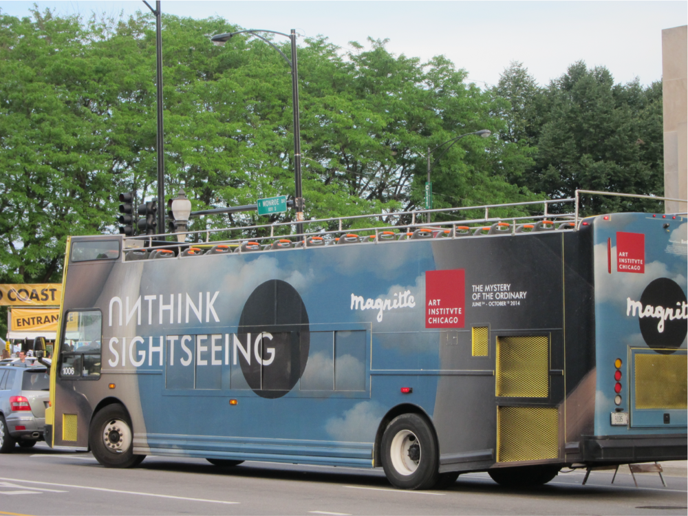 UNthink Sightseeing Bus in Chicago