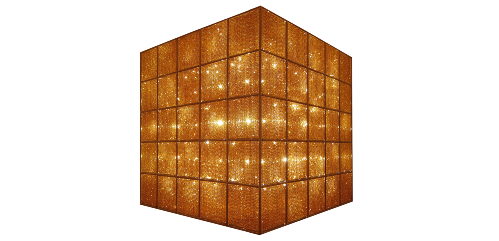 Cube Light by Chinese artist Ai Weiwei