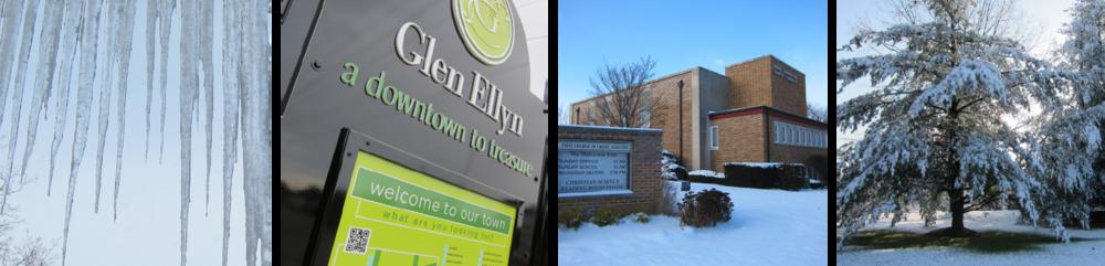 Winter in Glen Ellyn, Illinois