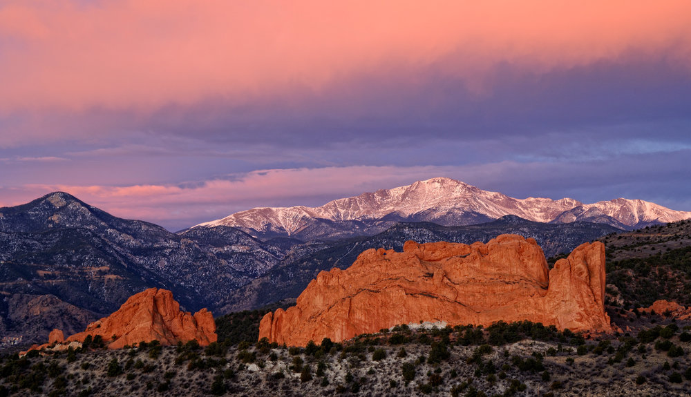 ©Doug Bennett Photography - Garden of the Gods Sunrise