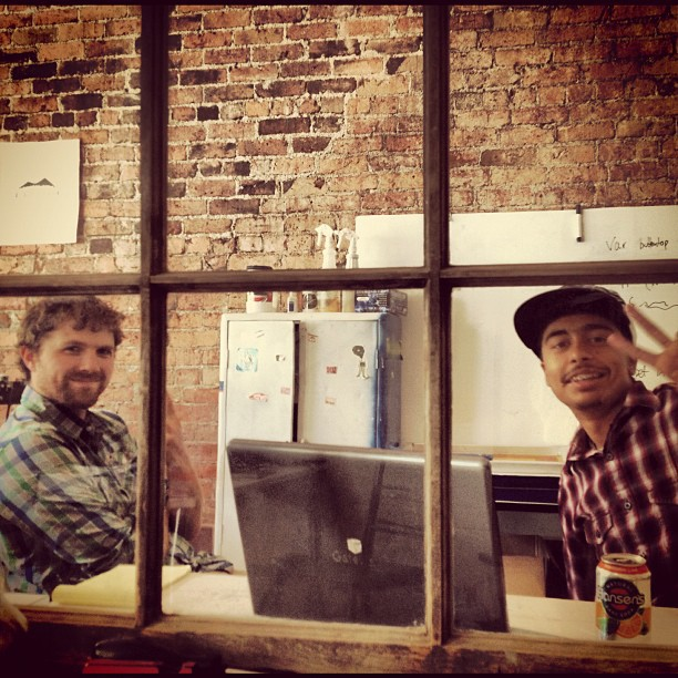 brycecraig :     Pusher Junior Division brainstorming (Taken with  Instagram )