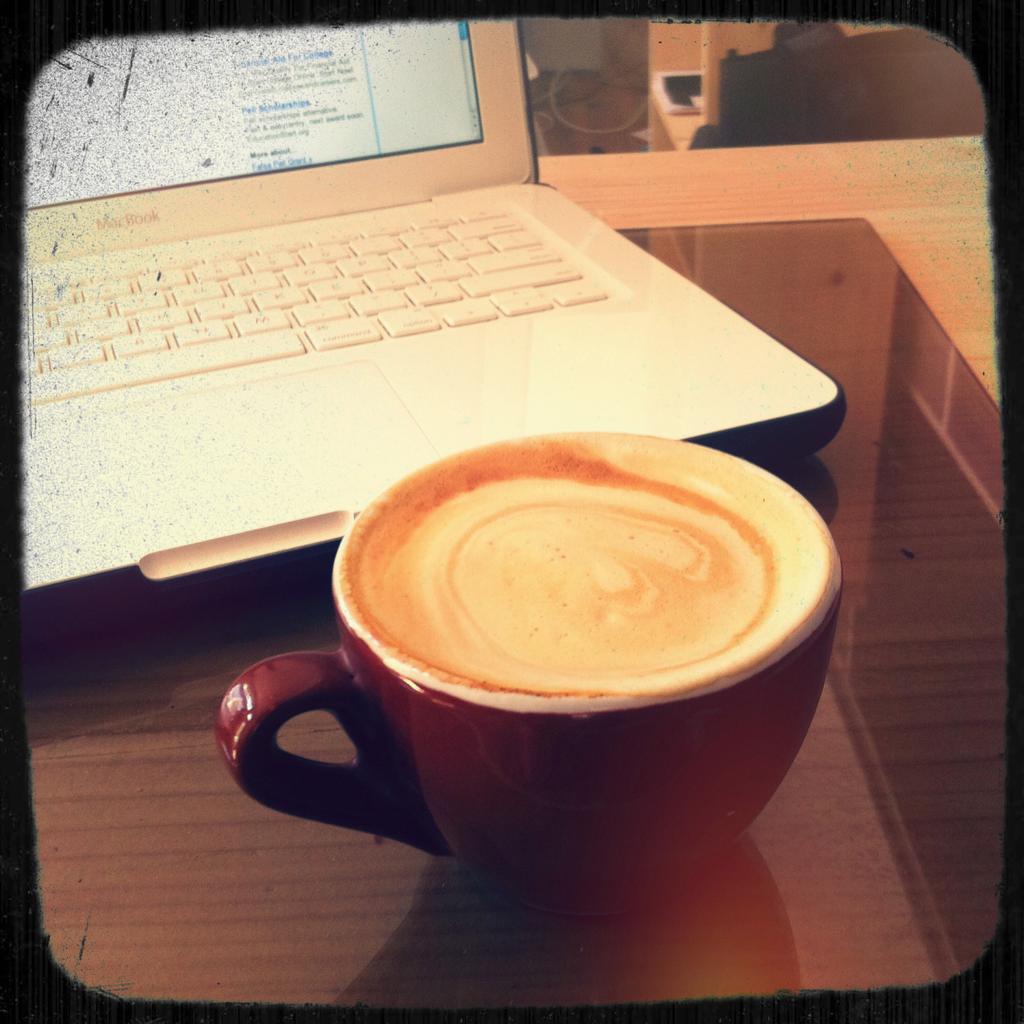 A swirling caffeine vortex!