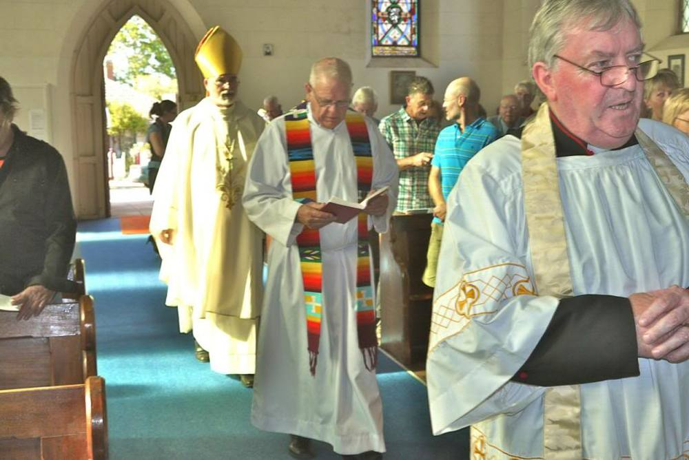 Induction of Fr Kim Benton