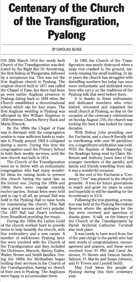 September 2014 - Anglican Advocate