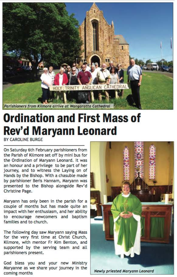 March 2016 ~ Anglican Advocate