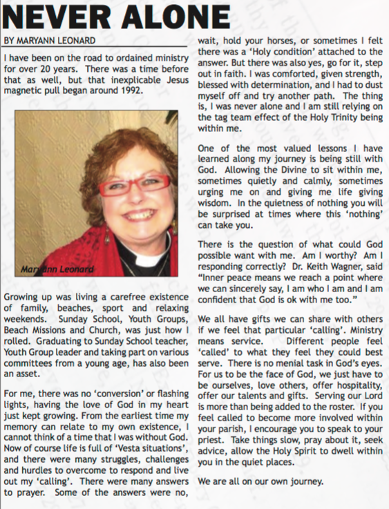 April 2016 ~ Anglican Advocate