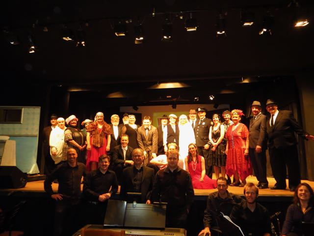 Cast and crew of the BATS Production