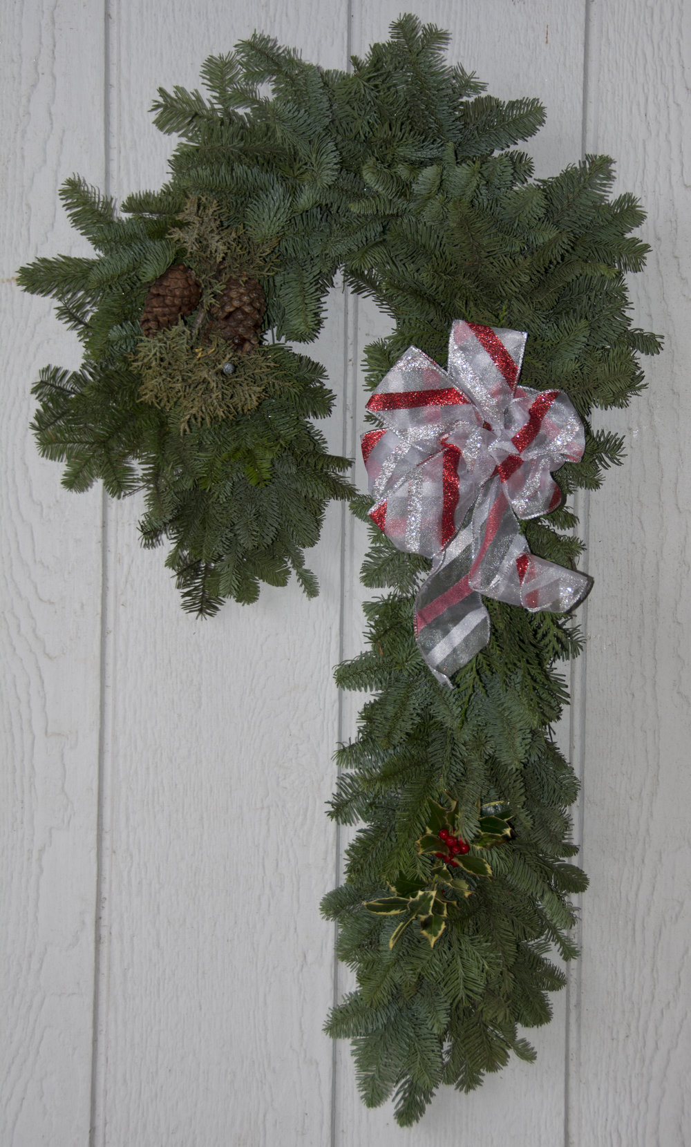 Candy Cane Wreaths  Candy Cane Wreaths $30