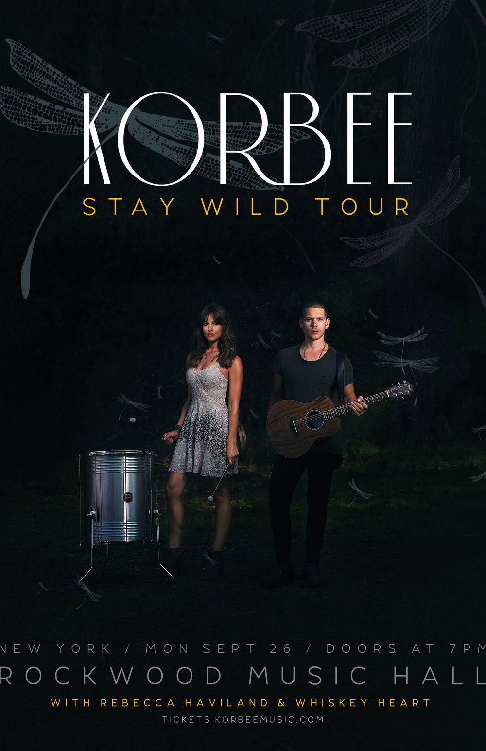 Korbee - Stay Wild Tour - 11 x 17 Poster - New York - Final.jpg