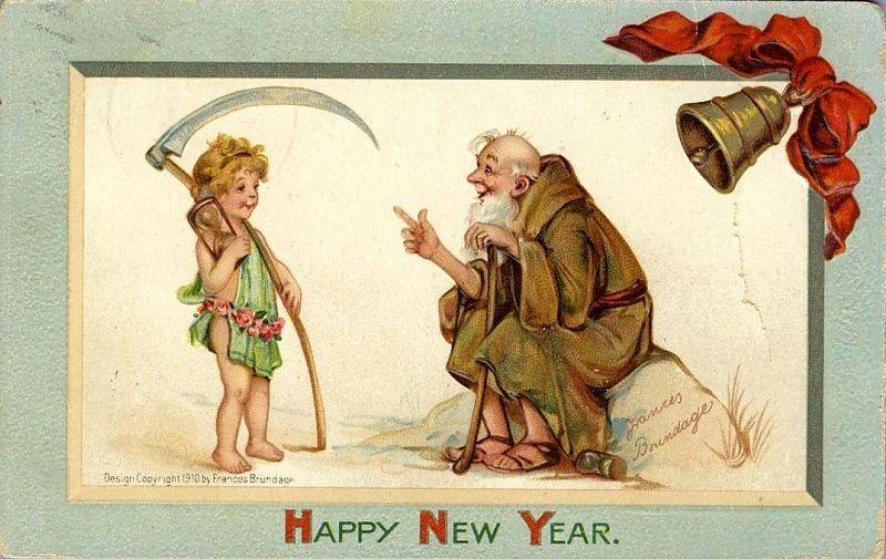 Resultado de imagen de año viejo y año nuevo