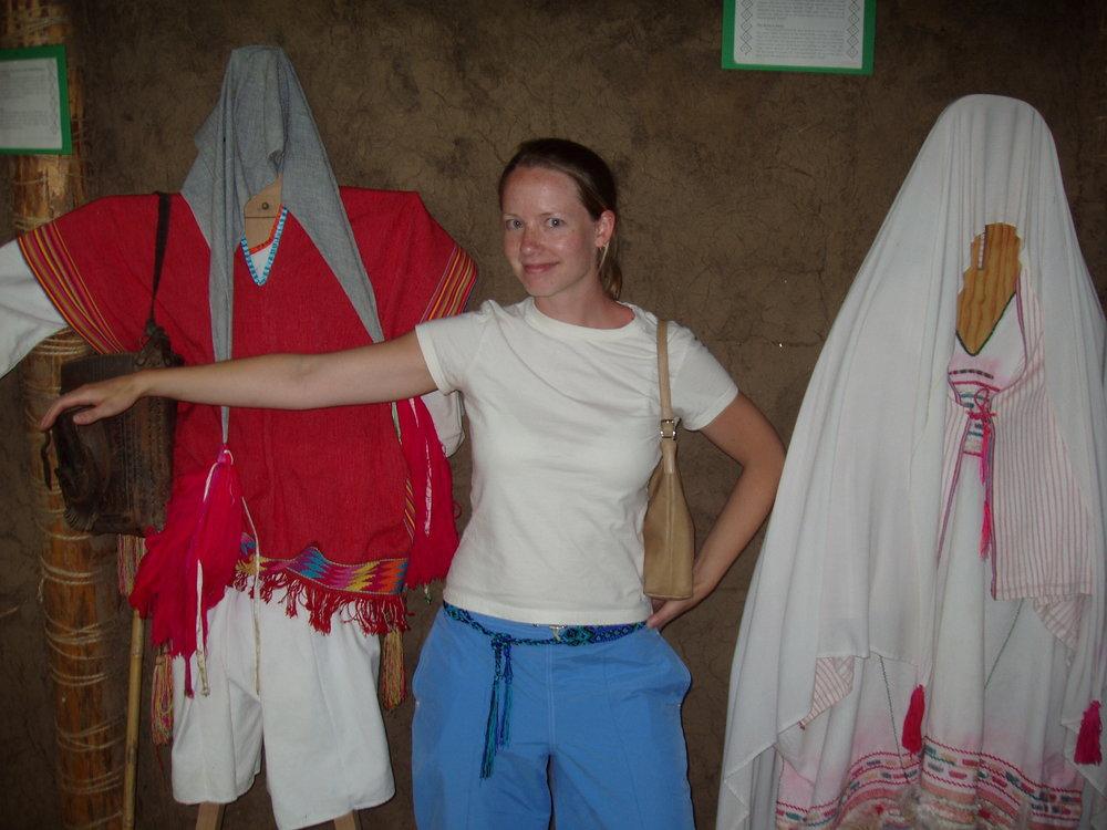 Melissa with Chamula dresses.jpg