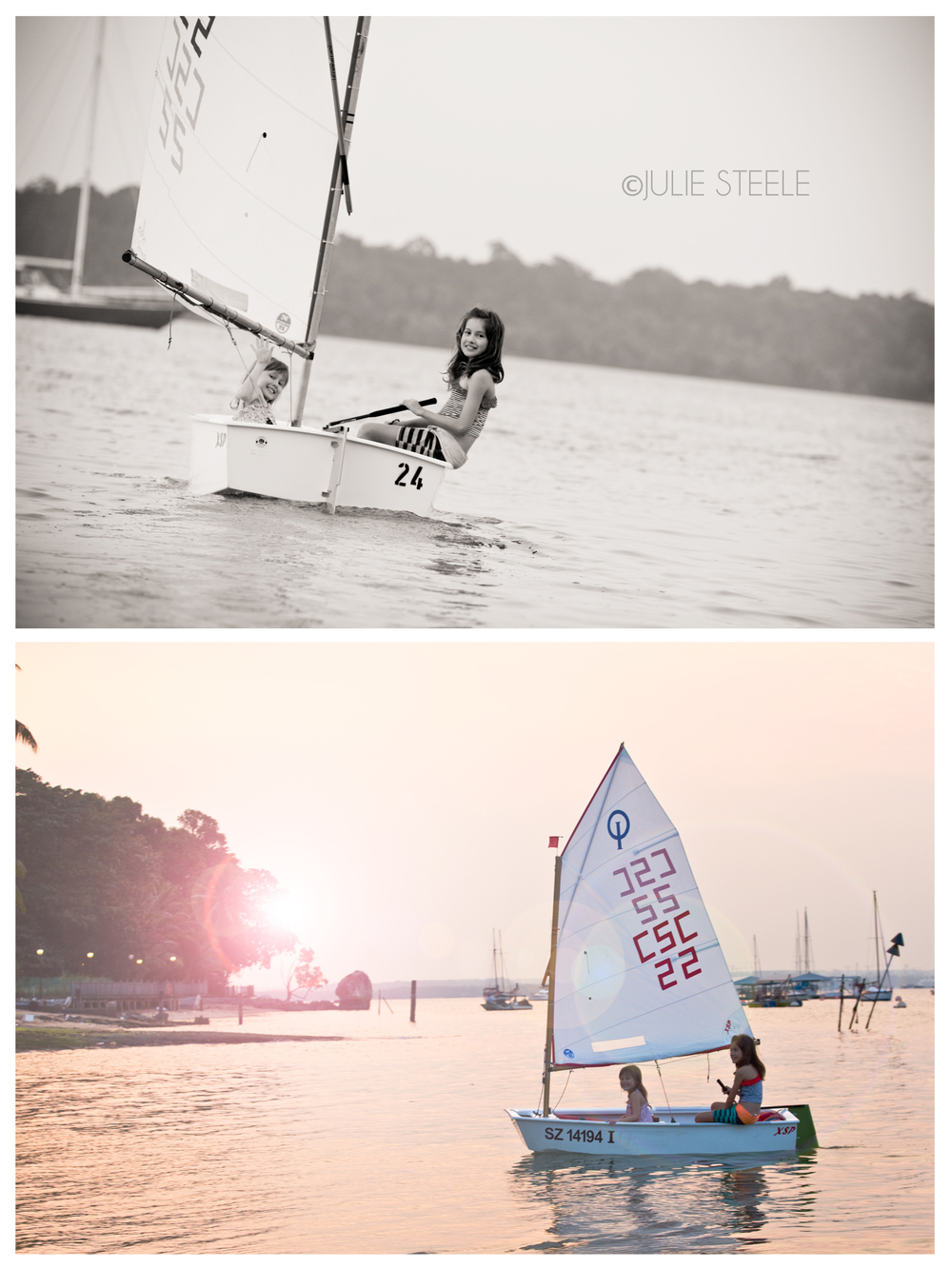 sailing themed family photography session