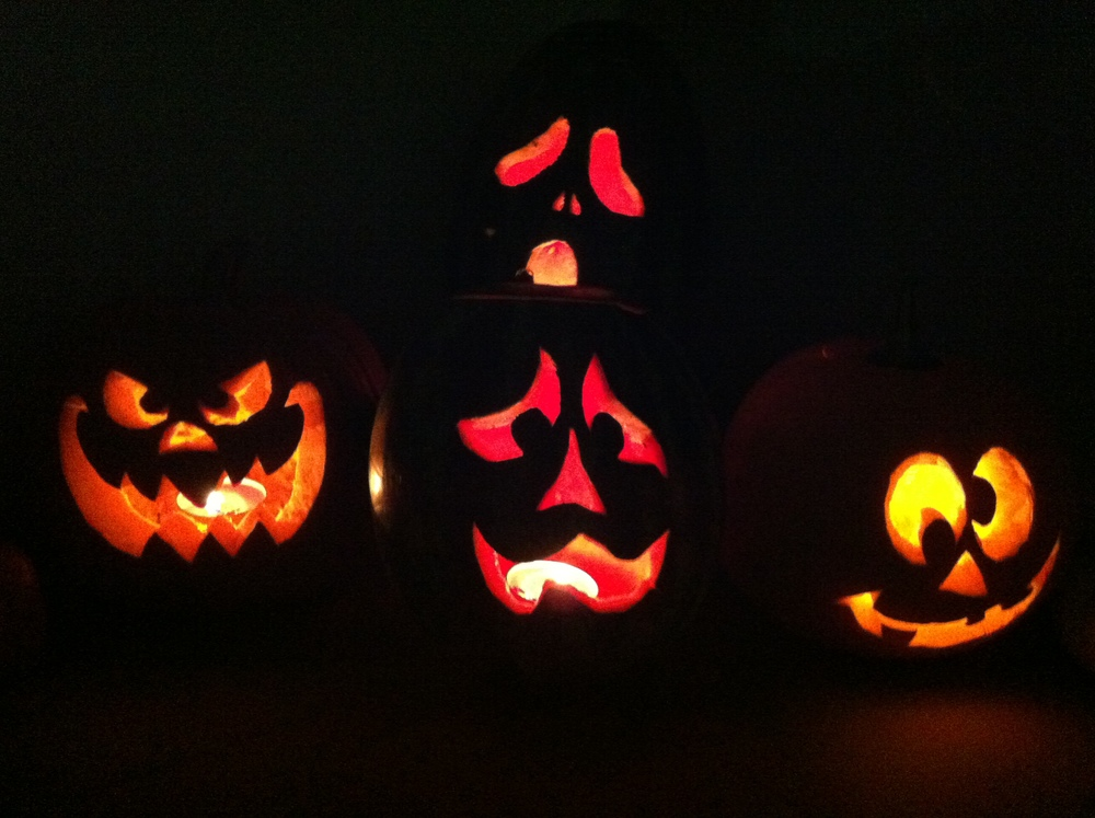 or when the lights go out !!!  Happy Halloween have a spook-tacular time and eat lots of Candy !!