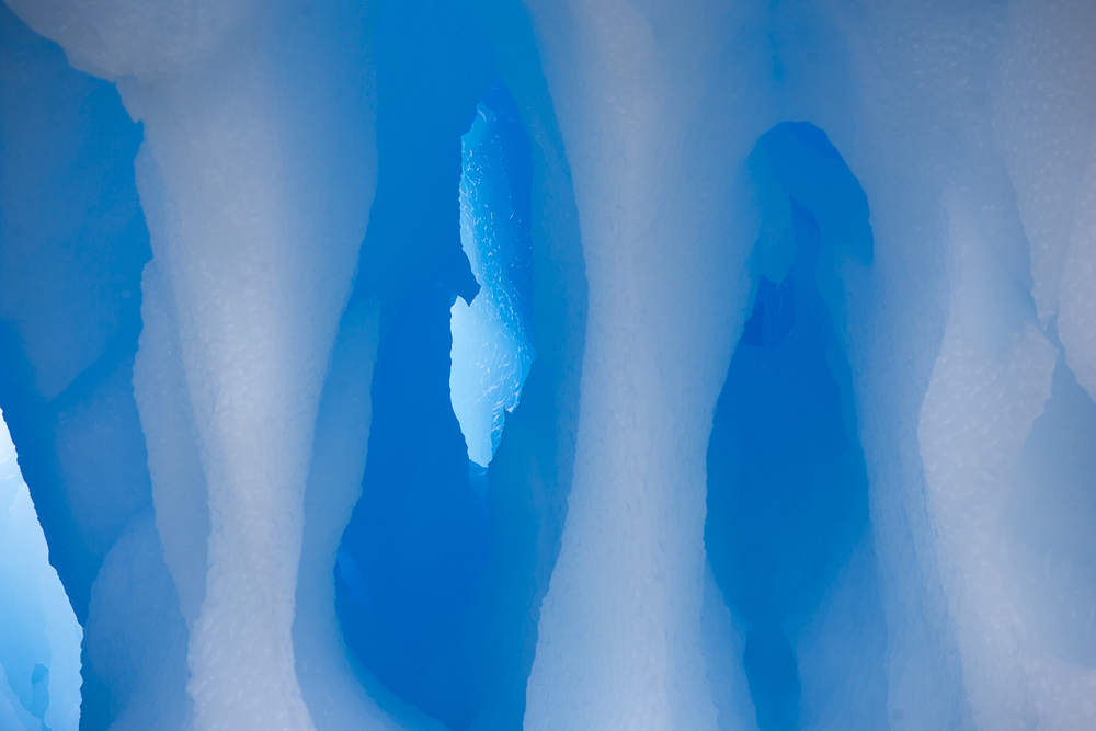 My World is Blue   © 24 Atlantic 2014  Colours of floating ice.