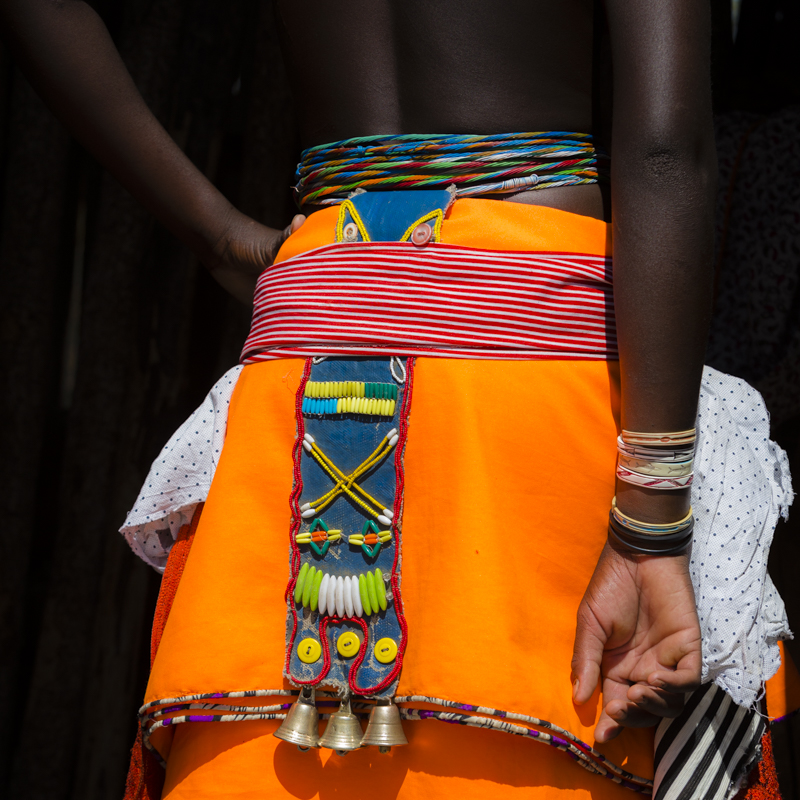 Vibrant colours of tradition and beauty.  ©24Atlantic