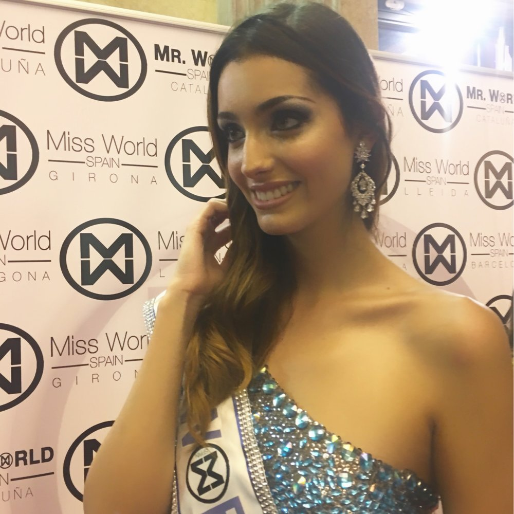 RAQUEL TEJEDOR - MISS SPAIN 2016