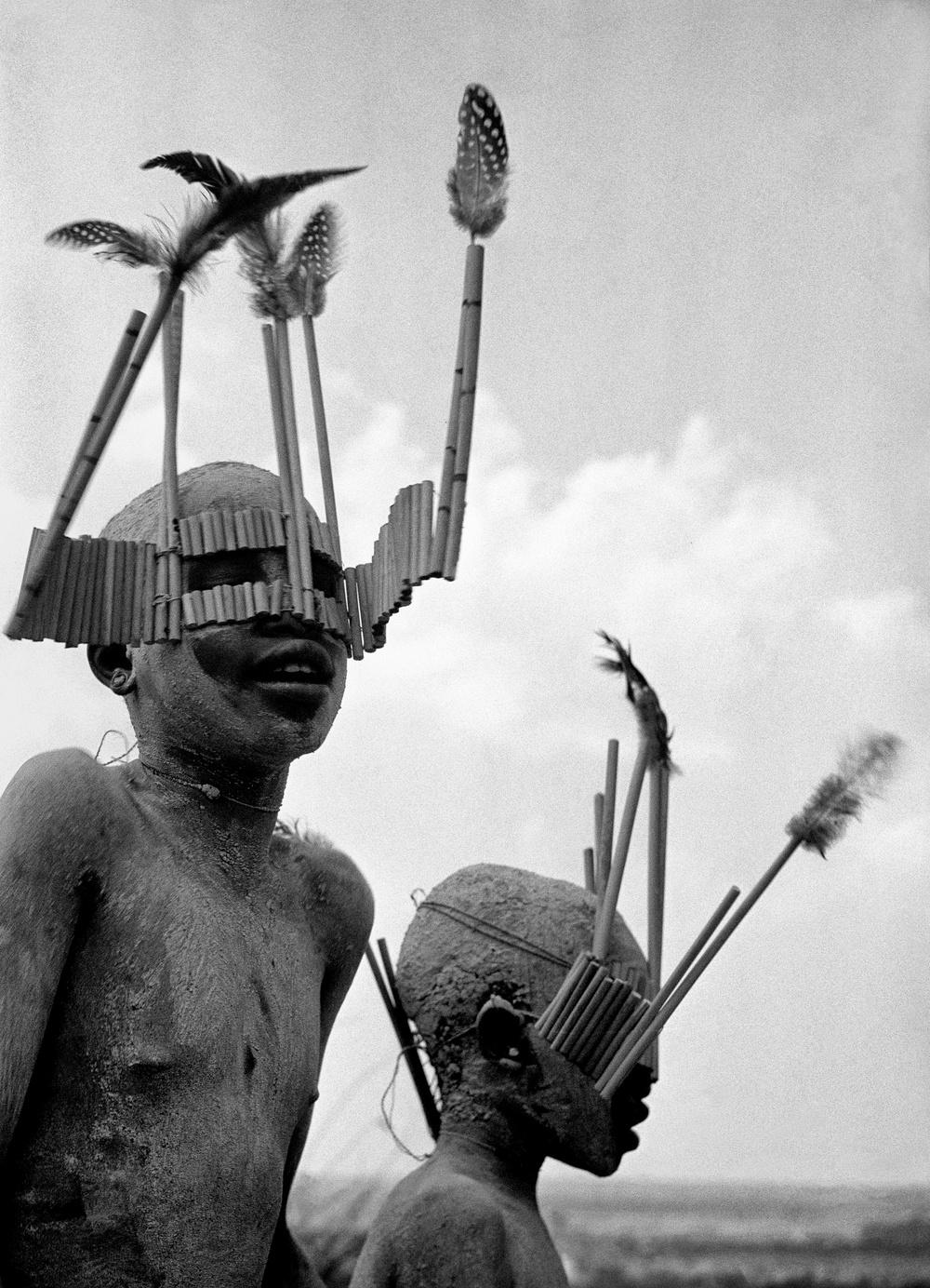 Boys of the Wagogo Tribe, Tanzania 1948