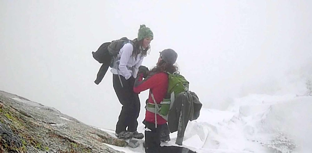 Derek Russell proposes atop mountain to kara