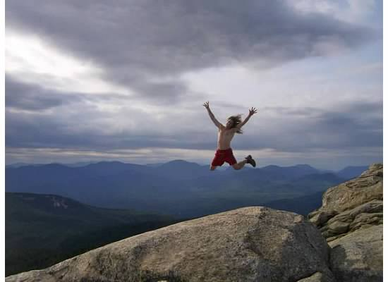 soaring high atop Mount Chocorua