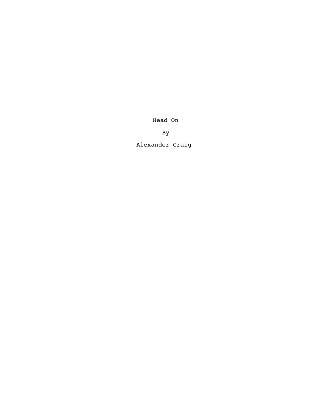 'Head On' by Alexander Craig   T.jpeg