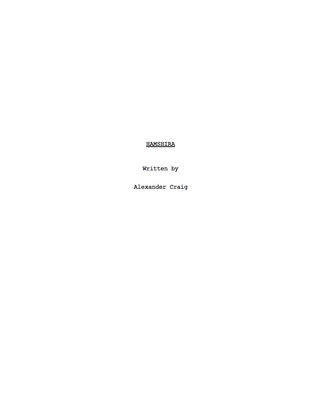 Hamshira | Alexander Craig | T.jpg