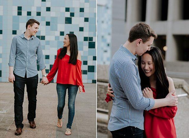 Vivi & Dan on the blog #city #engagementsession