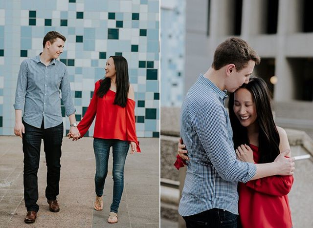 Vivi & Dan on the blog #city #engagementsession