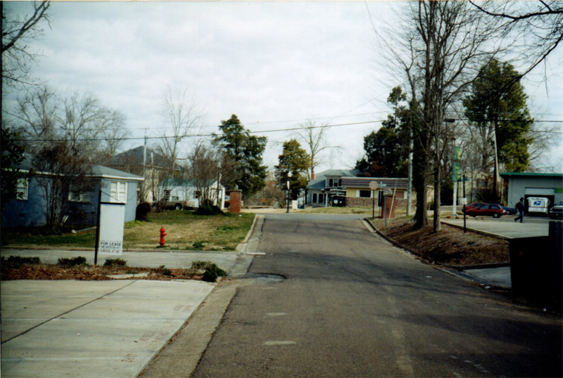 1. This image was taken from Page Avenue, looking towards University Drive