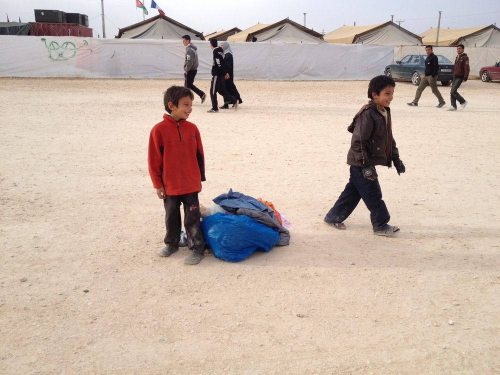 Jordan: Zaatari Refugee Camp