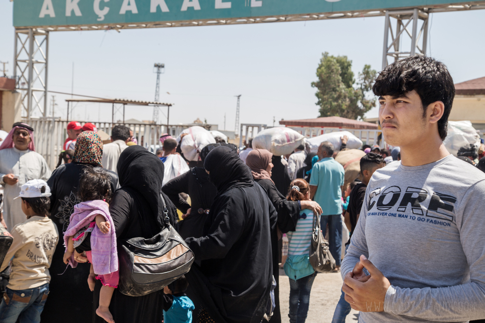 Lucy Kafanov Syria Border