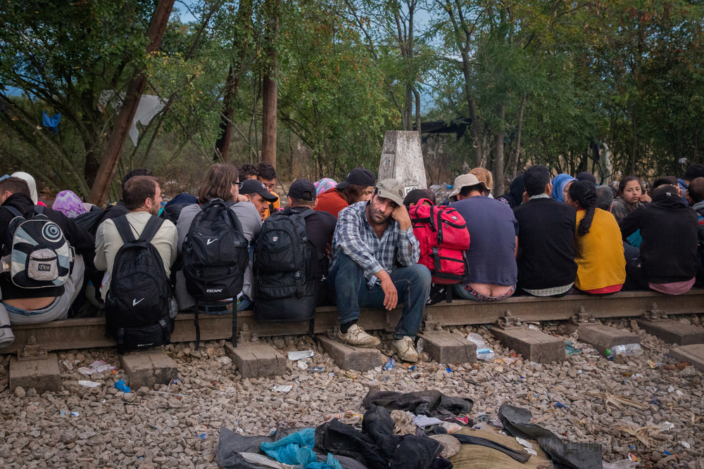 The United Nations expects up to 3,000 migrants to cross into Macedonia every day in the next few months -- most of them refugees fleeing war.