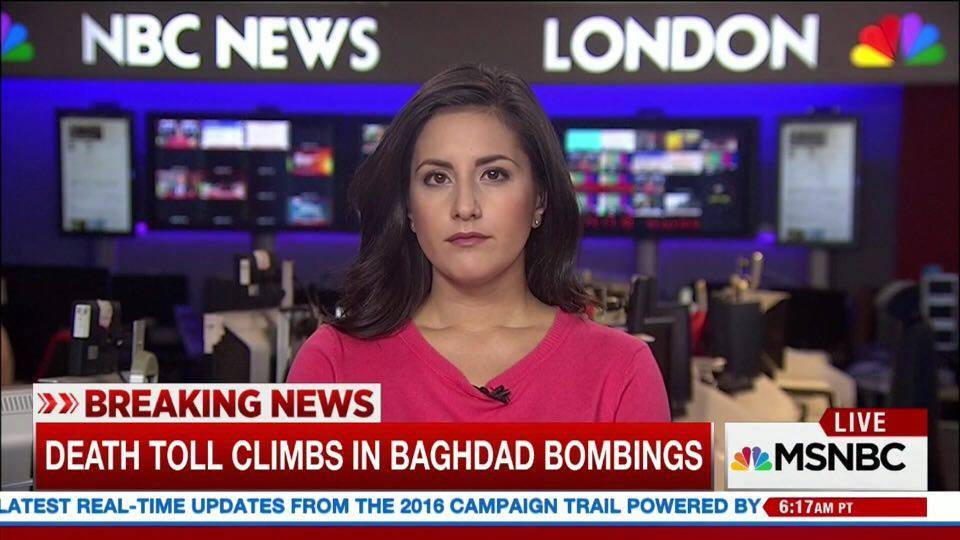 Lucy Kafanov, NBC News London