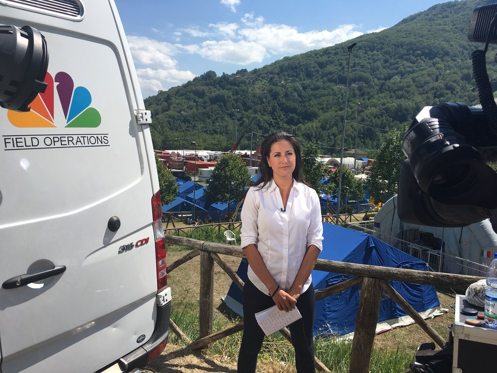Lucy Kafanov, NBC News Foreign Correspondent