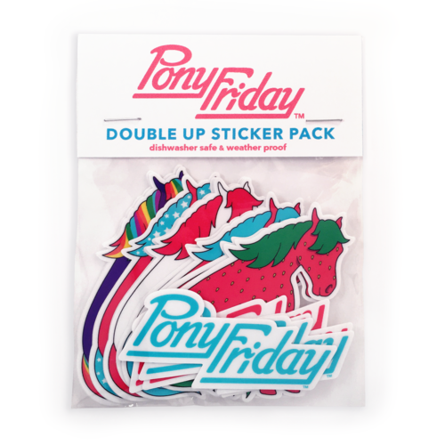 Double up sticker pack