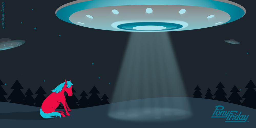 Pony-Friday-Unidentified-Flying-Object-UFO-Step-Into-The-Light-FITC-Space-Aliens-Pony-Blog-Header-Image.png