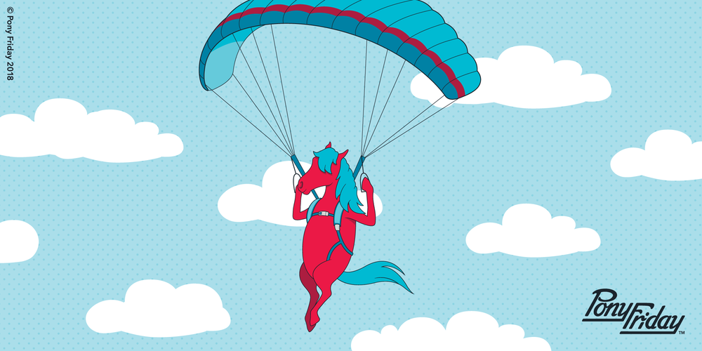 Pony-Friday-FOMO-Fear-Of-Missing-Out-Blog-Post-Header-Image-Red-Horse-Parachute.png