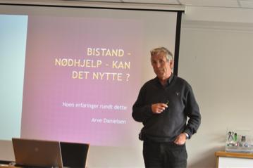 Inspirasjonsforedrag medArve Danielsenfra Kirkens Nødhjelp