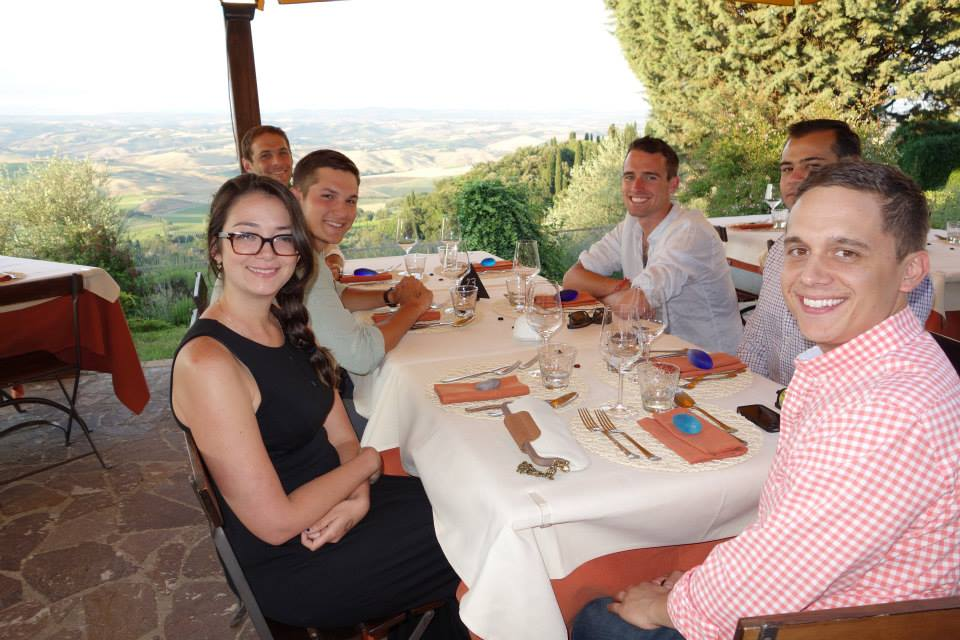 Enjoying a Weekend Meal in Montalcino