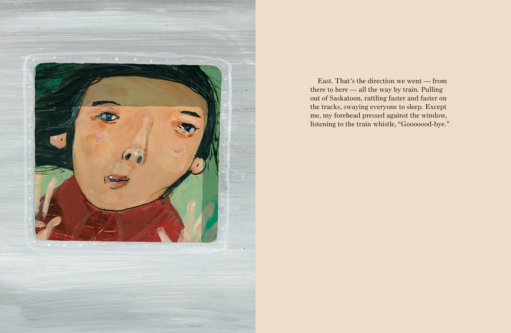 From There To Here Written by Laurel Croza, Illustrated by Matt James