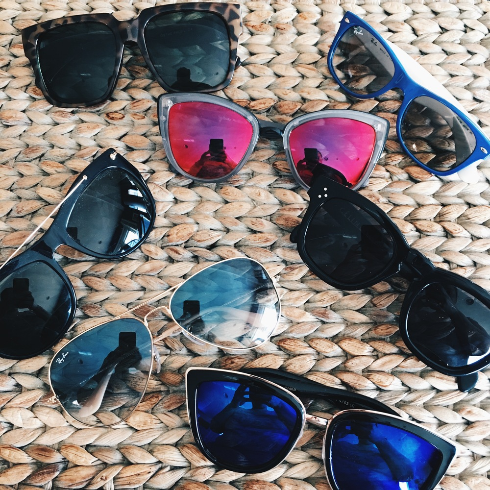 40690d208f Sunglasses really happen to be my favorite summer accessory. Here is a pic  of my amazing collection I plan on rocking this summer.