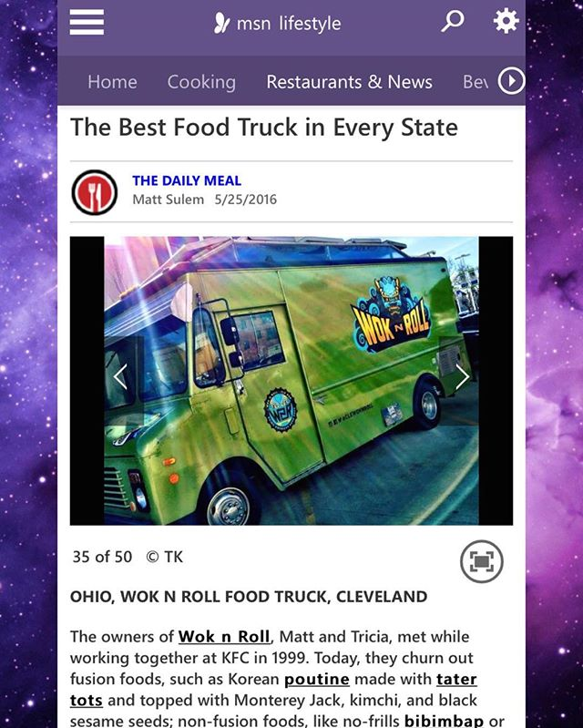 BEST FOOD TRUCK IN OHIO!!! Thank you MSN 👍🏼 We'll be kickin a$$ and takin names tomorrow at #WalnutWednesday