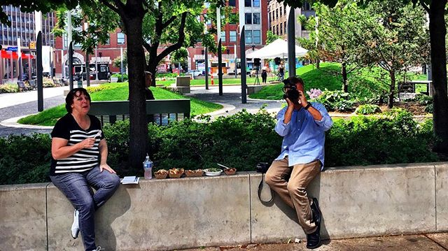 @clevelanddotcom filming me filming them!
