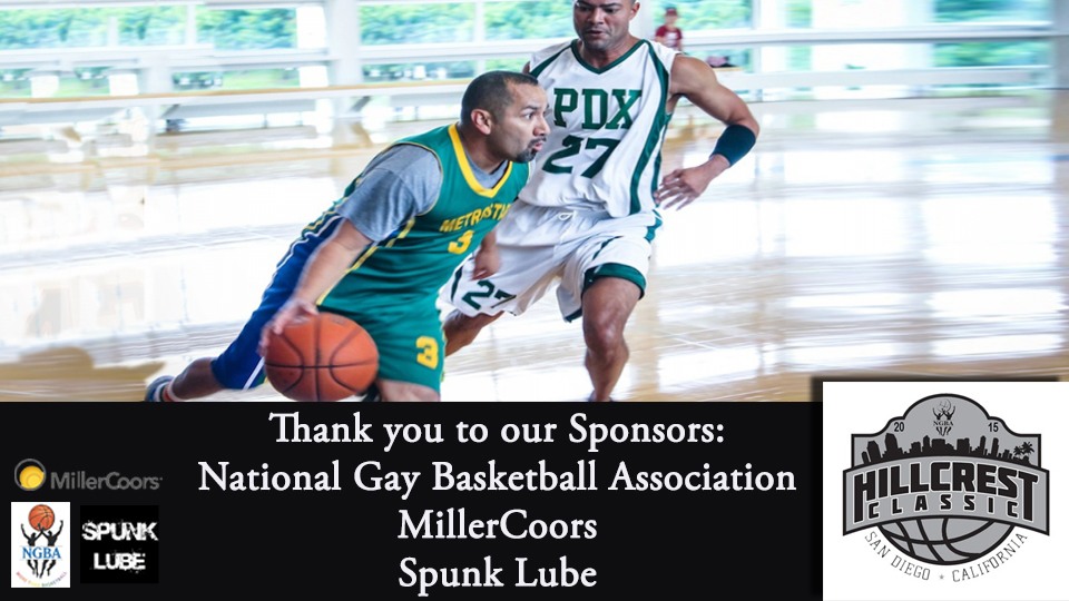 National Gay Basketball Association sponsors