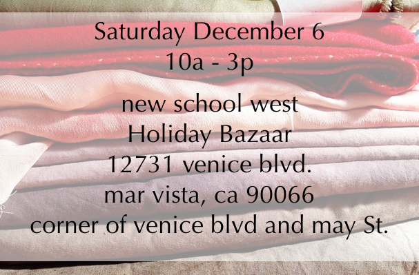 New school west holiday bazaar 2014