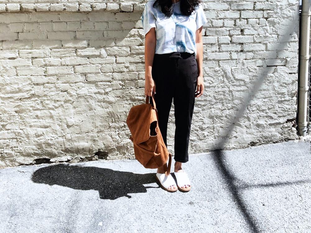 Melissa Sonico Jill Aiko Yee Indigo Explorer Top