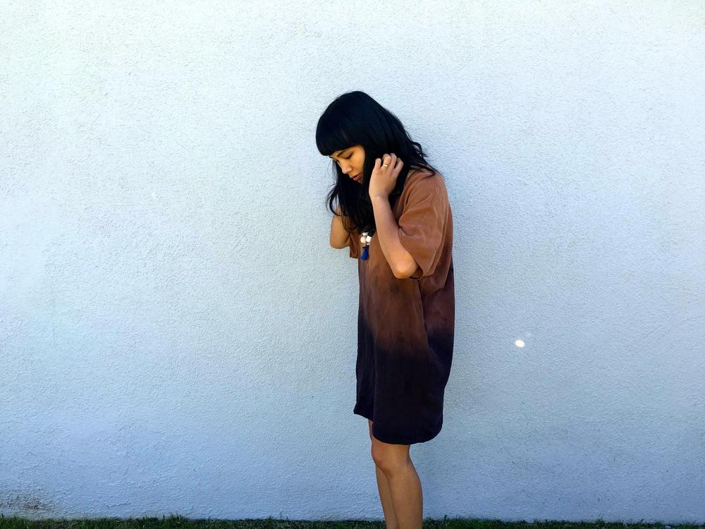 Jill Aiko Yee Melissa Sonico Sunset Tunic Dip Dyed