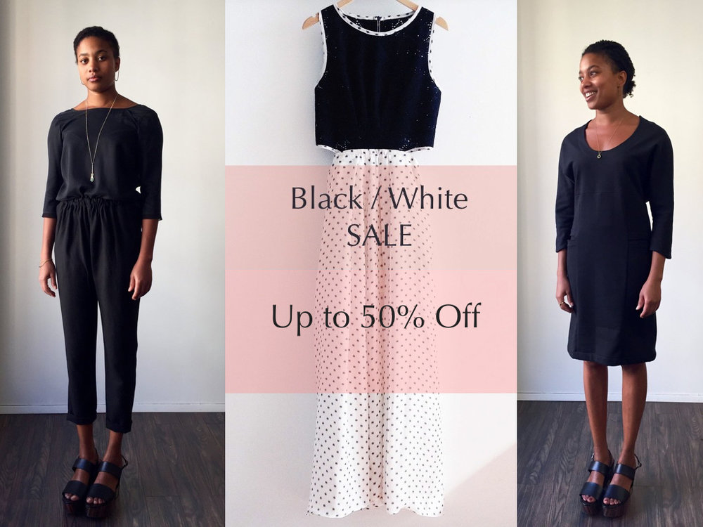 Black and White Sale Jill Aiko Yee